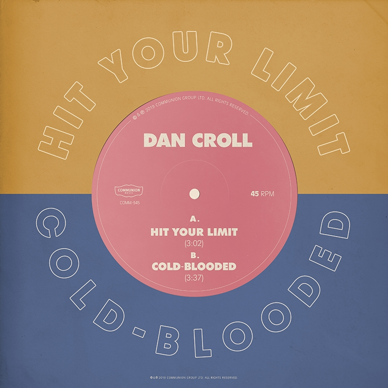 Hit Your Limit / Cold-Blooded Release Artwork
