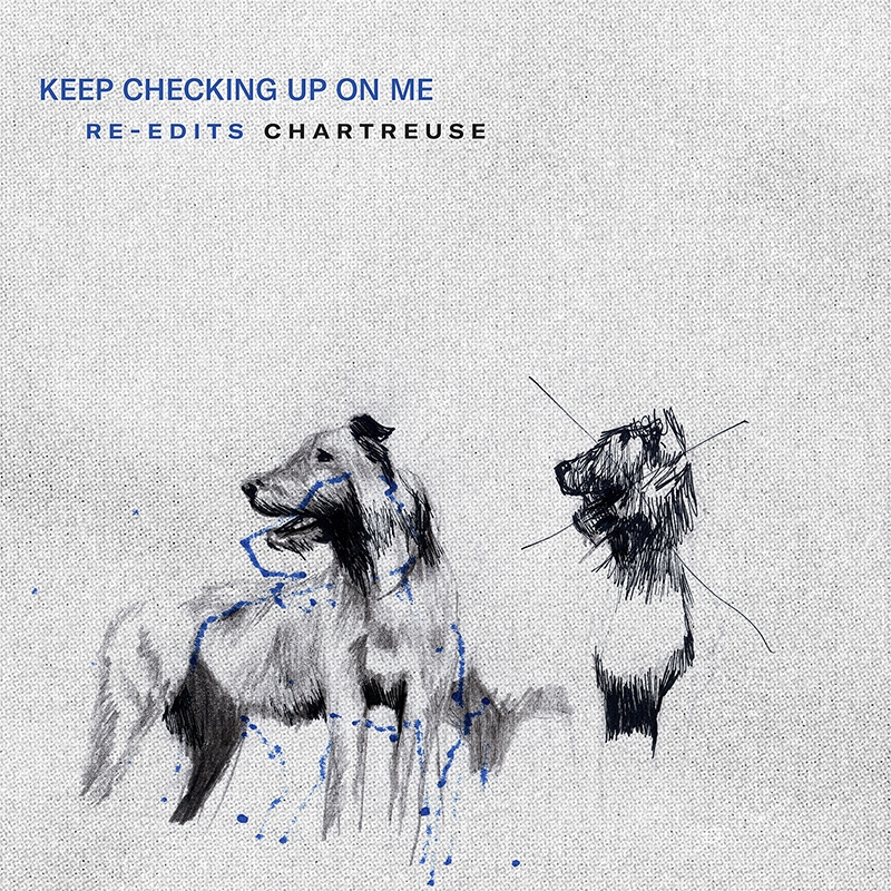 Keep Checking Up On Me (Re-Edits) Release Artwork
