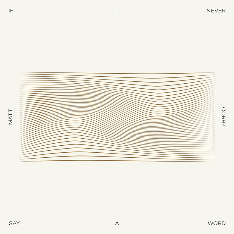 If I Never Say A Word Release Artwork